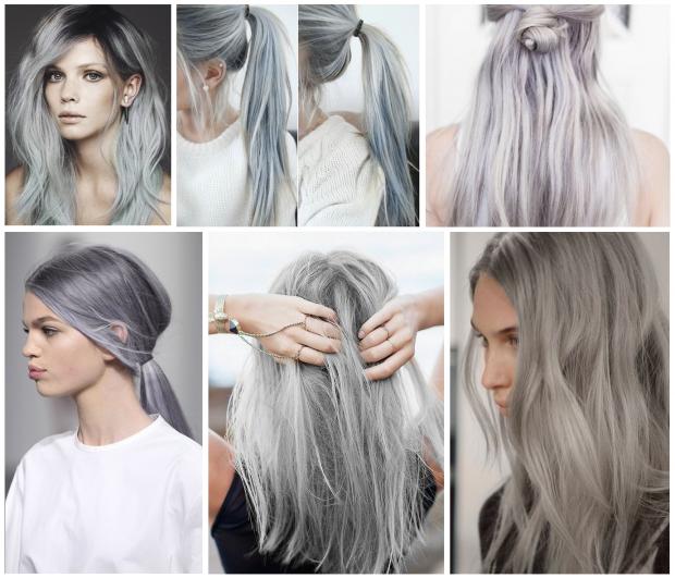 Grey Hair Trends 2015