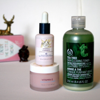 The Body Shop Skin Care Haul