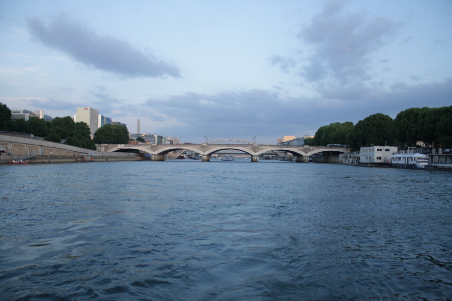 river Seine evening cruise