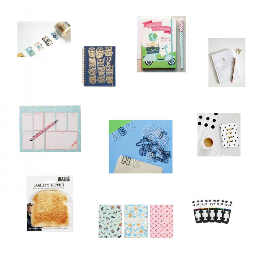 Stationary gift guide
